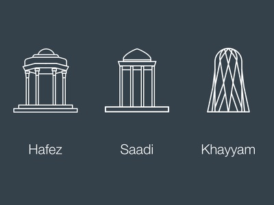 Some of iran's poets tombs poet icon tomb saadi hafez khayyam iran