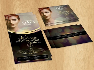 The Pumpkin Gala banner design photoshop coreldraw catalogue design leaflet design brochure design flyer design graphic design vivekgraphicdesign graphics illustrator illustration design creative creative design