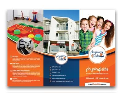 Physio 4 Kids catalogue design designer poster art brochure design flyer design graphic design vivekgraphicdesign graphics illustrator illustration design creative creative design