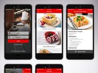 Food Drink mobile ui android app ios app mobile app design mobile app app designer app vivekappdesign illustrator illustration design creative creative design
