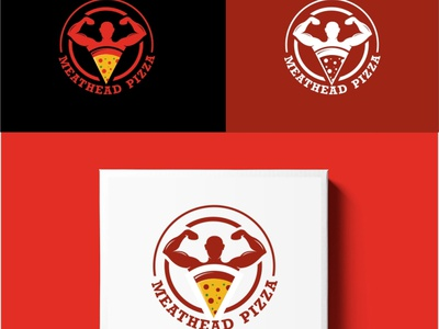 Meathead Pizza viveklogodesign logo animation logo designer logo mark logodesign logotype logo design logos logo branding designer photoshop coreldraw graphics illustrator illustration design creative creative design