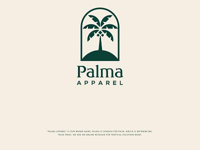 Palma Apparel viveklogodesign logo design concept logo design branding logo animation logo designer logo mark logodesign logotype logo design logos branding logo designer coreldraw photoshop illustrator illustration design creative creative design