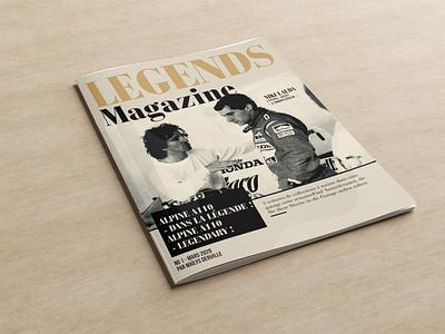 Legends Magazine motion graphics graphic design coreldraw photoshop illustrator illustration design creative creative design