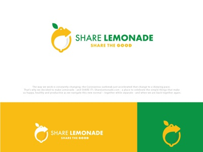 Share lemonade logo branding coreldraw photoshop illustrator illustration design creative creative design