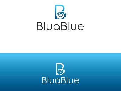 BluaBlue branding logo coreldraw photoshop illustrator illustration design creative creative design