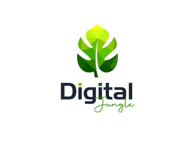 Digital Jungle branding logo coreldraw photoshop illustrator illustration design creative creative design