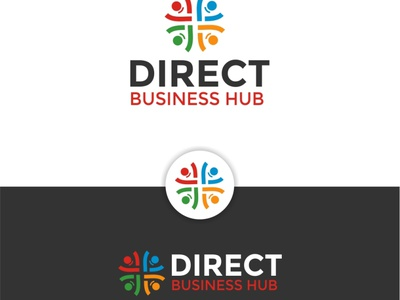 Direct Business Hub branding logo coreldraw photoshop illustrator illustration design creative creative design