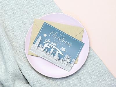 Post Card coreldraw photoshop illustrator illustration design creative creative design