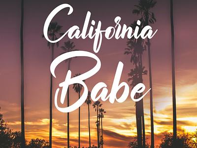 California Babe creative brochure design flyer design graphic design vivekgraphicdesign graphics