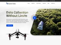 Kestrel Data - Home Page Design Concept