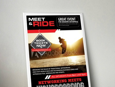 Meet Ride  Networking meets Wakeboarding