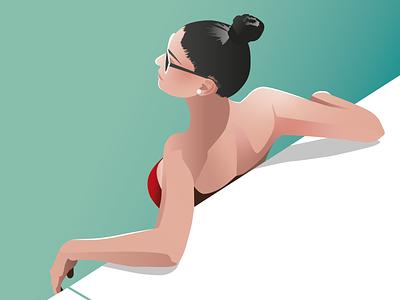 Summer Vibes III illustrator vector ilustration