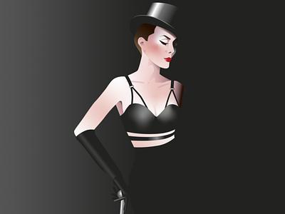 Dominatrix Queen vector ilustration