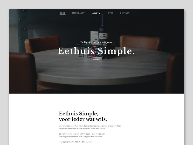 Restaurant website design restaurant web design website branding design web ux ui