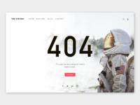 404 Page - #DailyUI Challenge