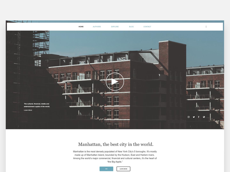 Real estate - Web concept homepage web concept brokerage real estate studio webdesign web adobe experience design design branding ux ui