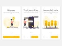Boarding app - Adobe Experience Design