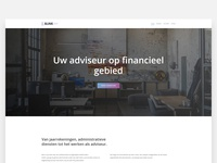 Website Design Administrative office | Visual / UI Design