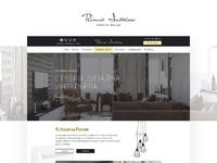 Rimik Interiors - website design v1.1