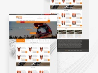 Moto Store - ecommerce website design
