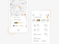 Simple Taxi - app design