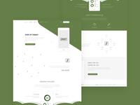 Sknnt - landing page design