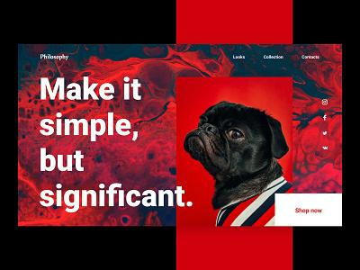 Daily UI #003 — Landing Page daily ui uidesign dailyui appdesign design dailychallenge userinterface dailyui003 003