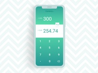 Daily UI #004 — Calculator