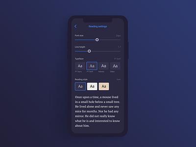 Daily UI #007 — Settings ui appdesign uidesign daily ui dailychallenge userinterface dailyui007 dailyui 007