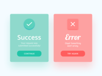 Daily UI #011 — Flash Message