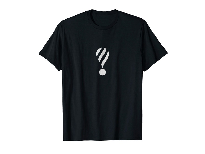 Hot Air Balloon T-shirt t-shirt apparel madebybono tshirt tshirt design clothing clothing brand dream iconic threadless amazon black and white symbol typography exclamation point exclamation mark exclamation travel hot air balloons hot air balloon
