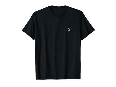Cursor T-shirt Black