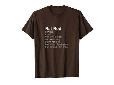Rat Rod Definition T-shirt