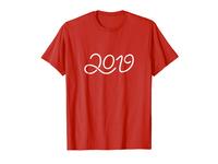 Happy New Year 2019 T-shirt LOV T-shirt