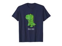 Tree Rex Funny Dinosaur Christmas T-shirt