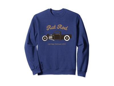 Rat Rod Sweatshirt Vintage