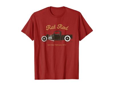 Rat Rod Vintage T-Shirt