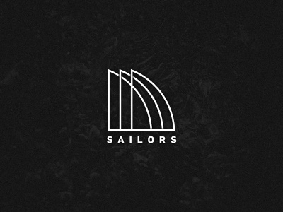 Brand Identity x Design x Sailors modern graphicdesign adventure minimalist white black water photoshop illustrator vector sailors logo branding brand identity