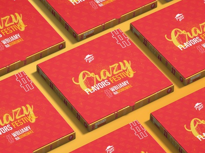 Key Visaul / Pizza Hut graphicdesign logo illustrator photoshop branding design hashtag flavor festival cheese red event box keyvisual hut pizza