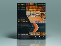 Business commercial brochure