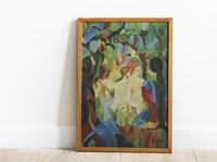 Beams | Oil Paint
