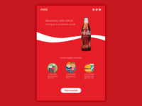 CocaCola Landing Page