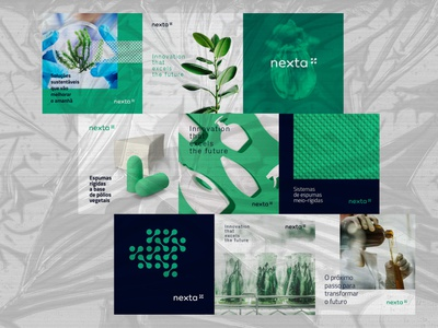 Nexta brand identity brand logo identity design branding