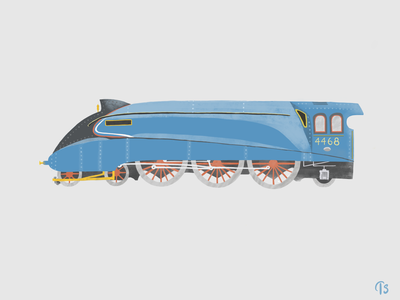 The Mallard - fastest steam locomotive