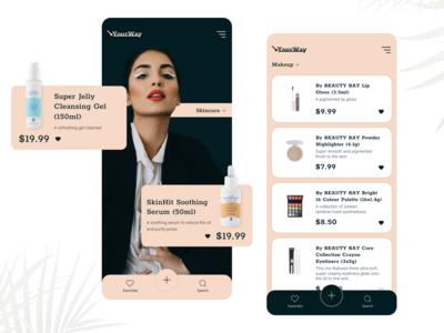 Makeup Application Concept