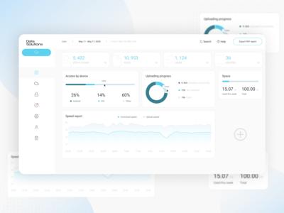 Data Solutions Dashboard Design
