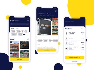 Easy Shopping Mobile System