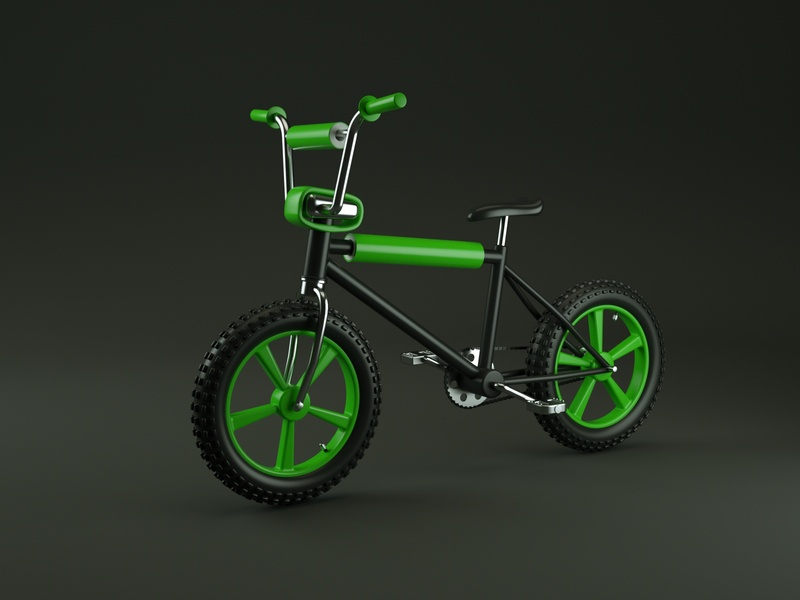 Bicycle bicycle vector illustration design render cinema 4d c4d 3d artist 3d art 3d
