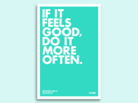 If It Feels Good Poster