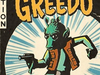 From the archives: Greedo comic book cover